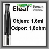 Clearomizer ismoka Eleaf, 1,6 ml, 1,8 ohm