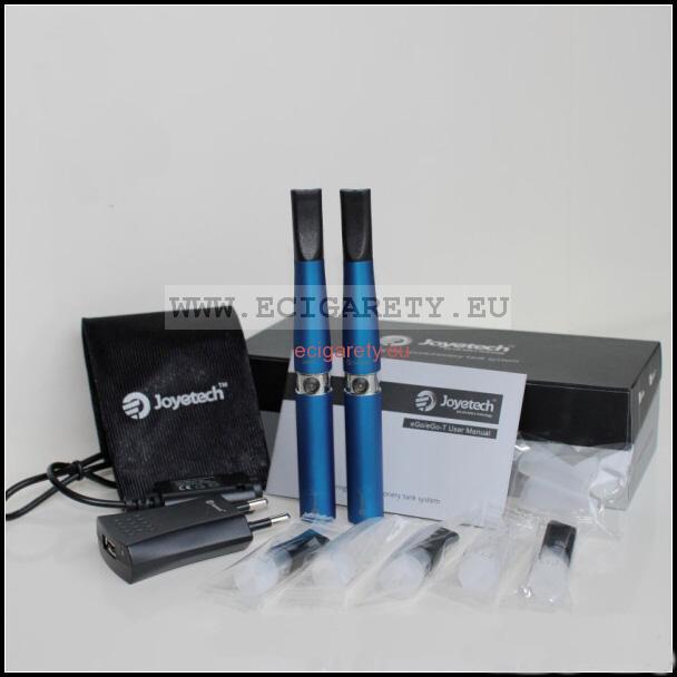 2ks elektronická cigareta Joye eGo-T - modrá, Joyetech, 650mAh