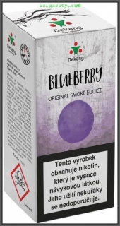 E liquid Dekang Blueberry 10 ml (borůvka)